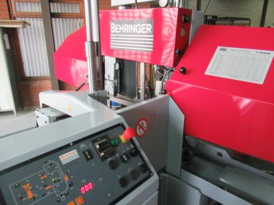 Bandzaag automaat Behringer HBP 303-A - Metaalzaagmachine