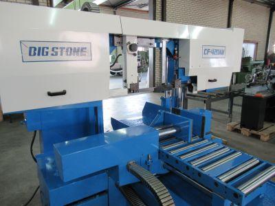 Bandzaag automaat Bigstone CF 420 AW - Metaalzaagmachine