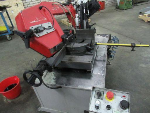 Bandzaag halfautomaat Bomar Ergonomic 320.250 DGSH - Metaalzaagmachine