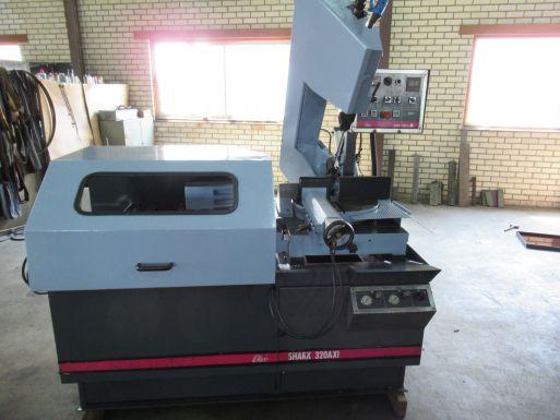 Bandzaag automaat MEP Shark 320 AXI - Metaalzaagmachine