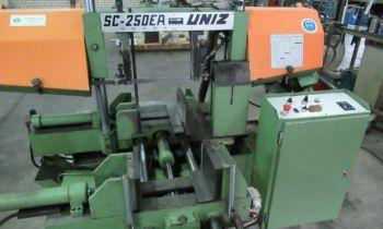 Bandzaag automaat Uniz SC 250-EA - Metaalzaagmachine